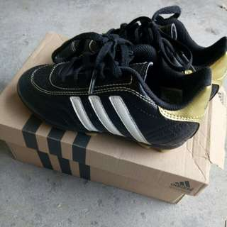 Adidas Soccer Cleats gold black white
