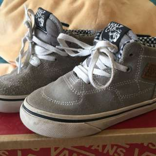 Vans half cab toddler UK7.5