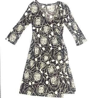 Alyn Paige Printed Wrap Dress