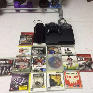 Ps3 + free games