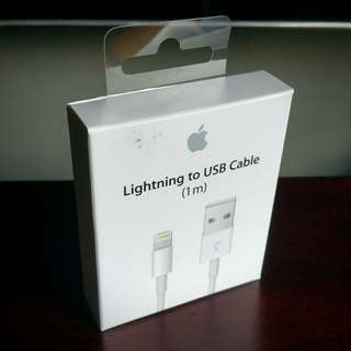 Apple 1m Lightning to USB cable (original, unopened)
