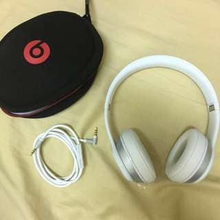 Beats wireless solo2 藍芽耳機