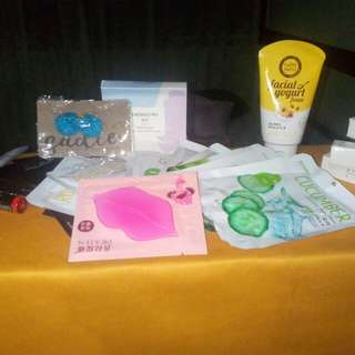 Authentic Korean Masks and Products.