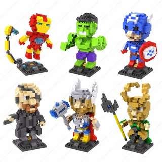 LOZ Lego Nanoblocks Marvel Gift