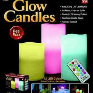 Color Changing Glow Candles