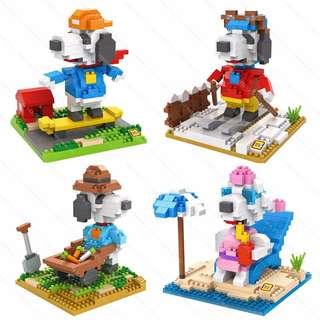 LOZ Lego Nanoblocks Snoopy Gift