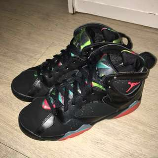 🚚 Air Jordan Retro 7 Marvin the Martian