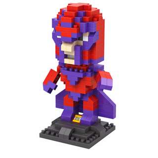 LOZ Lego Large Nanoblock Magneto Xmen Gift
