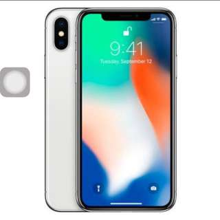 Selling iPhone x 256gb silver collect 8.30pm NETT price