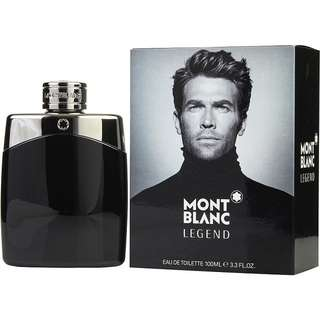 Mont Blanc Legend EDT for Men (30ml/50ml/100ml/Tester) MontBlanc