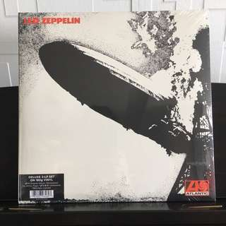 Led Zeppelin I . 3lp. Deluxe Edition Remastered Triple Vinyl Lp. New