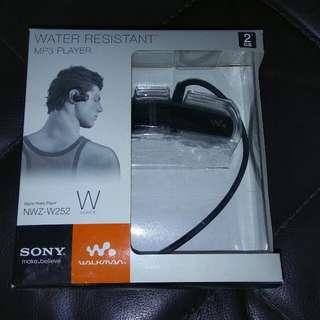 BNIB Sony Water Resistant MP3 Player