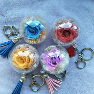 Eternal flower Keychain