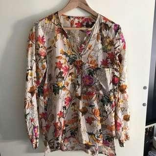 Zara Floral Shirt