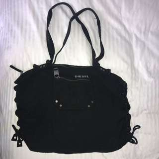 Black Diesel Fabric Bag