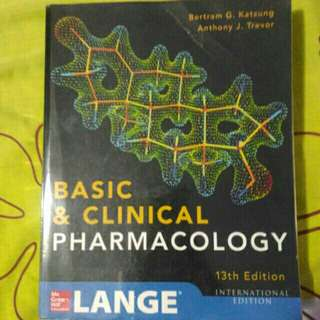 BASIC AND CLINICAL PHARMACOLOGY 13TH ED