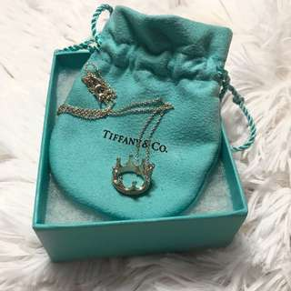 Tiffany And Co. Crown Necklace