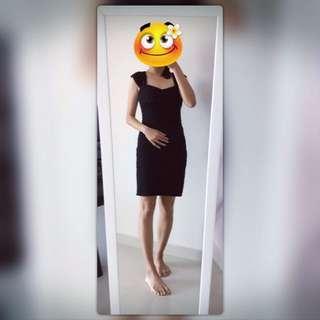 💟 S Size Black Dress~
