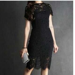 BNWT Black Lacey Dress
