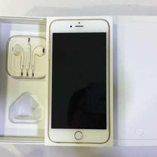 Used iPhone 6 Plus 64gb Gold