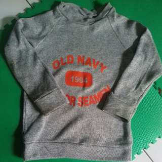 Sweater anak  old navy 4-6 th