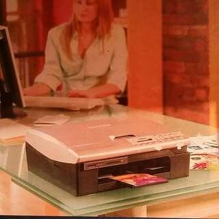 Brother Color Inkjet Printer DCP-115C(未開)