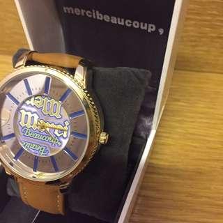 🈹全新Mercibeaucoup手錶特價