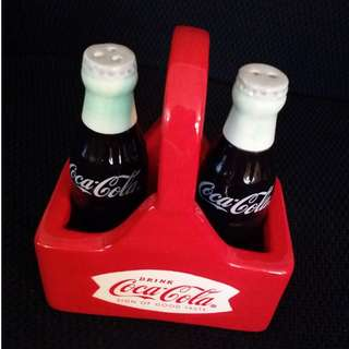 NEW*COKE Bottles Salt & Pepper Shaker Set
