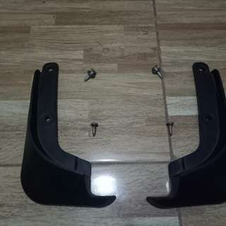 Mud Guard front only - for Toyota Wigo
