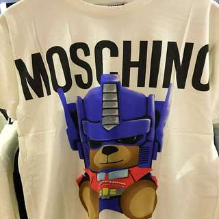 Authentic Moschino Bear 'Transformer Edition' T Shirt