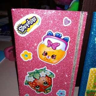 Glittery Notebooks