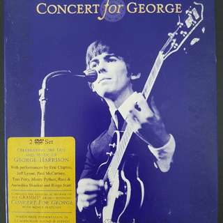 Concert for George Harrison DVD set