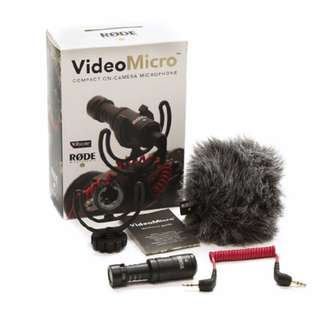 RODE MICRO VideoMicro Microphone for DSLR and Mirrorless