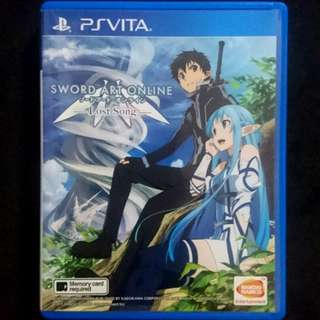 PS Vita SAO Lost Song