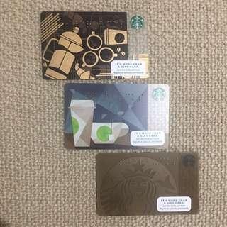 Starbucks Braille Cards