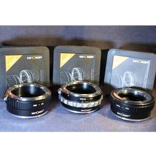 K&F Concept Fujifilm camera adapters-Nikon, M42