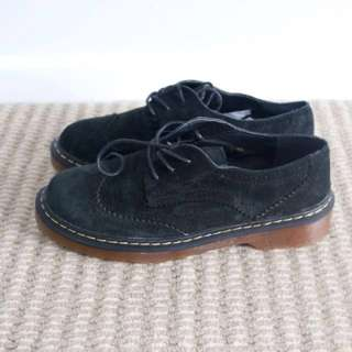 Brogue oxfords nubuck leather