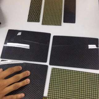 Papan carbon fiber original