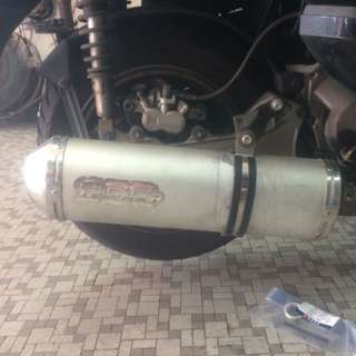SYM GTS 200cc GPR Exhaust (Legal)