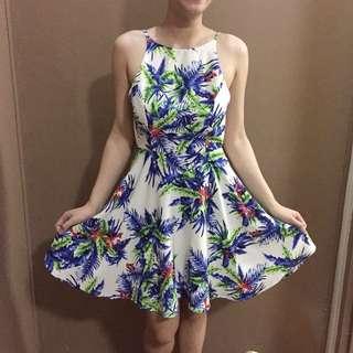 Paper Scissors backless dress