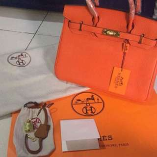 Hermes Authentic Overruns Onhand
