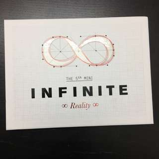 Reality: The 5th Mini Album (INFINITE) With L Photocard