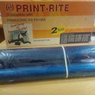 ☆免費☆ Print Rite 熱感轉印代用色帶 for Panasonic FAX =====