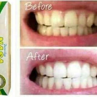 Whitening toothpaste herbal
