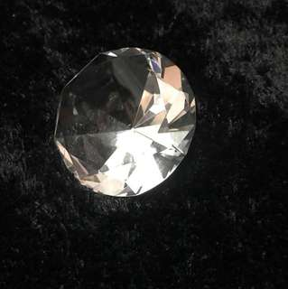 Diamond paperweight or decoration