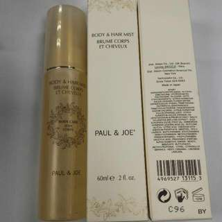 Paul & Joe Body and hair mist 保濕噴霧 60ml