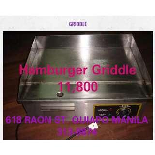 Hamburger Griddle