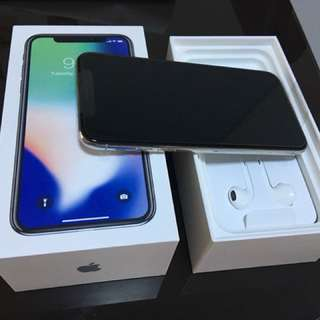 {Fast Deal] WTS iPhone x silver 256gb