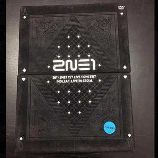 2NE1 1st Live Concert - NOLZA (DVD + Photo Book)