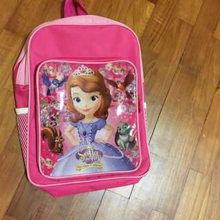 Sofia the First Small Backpack